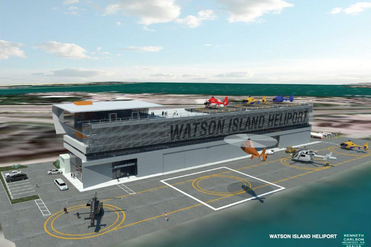 Heliport Facility, Watson Island